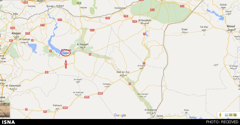 بهترین مکان برای اختفای رهبران داعش+نقشه