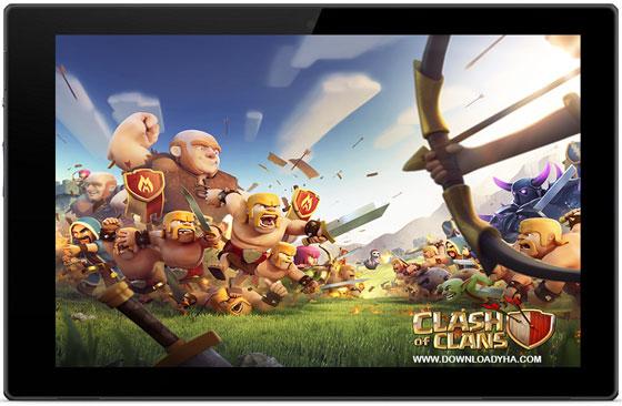 دانلود Clash of Clans 8.116.2 - بازی اندروید جنگ قبیله ها