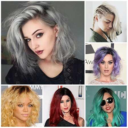 مدل رنگ مو جدید سال 2016