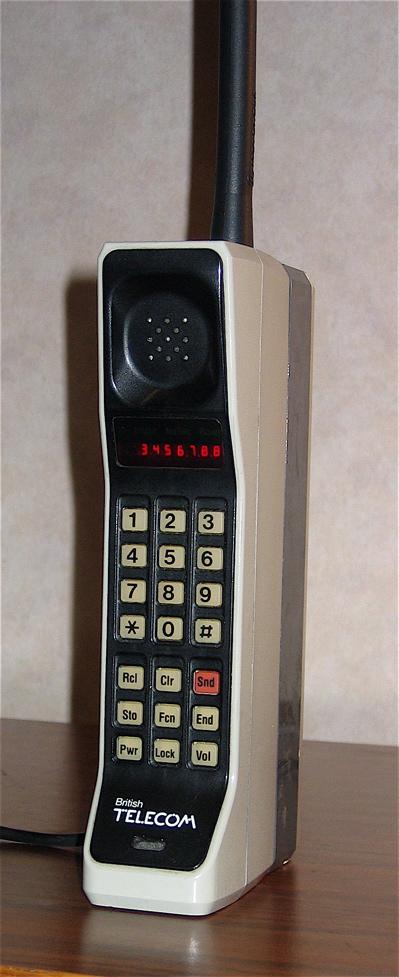اولین تلفن همراه عرضه شده توسط موتورولا