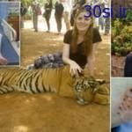ماجرای حمله وحشتناک یک ببر غول پیکر به دختر 19 ساله +عکس