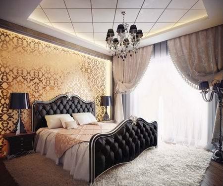 چیدمان لوکس اتاق خواب, طراحی شیک ترین دکوراسیون اتاق خواب
