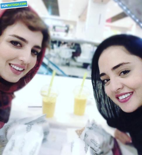 عکس جدید نرگس محمدی و خواهرش