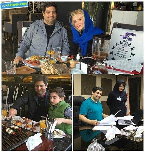 زندگی شهرام جزایری در کنار همسرش بعد از 13 سال حبس