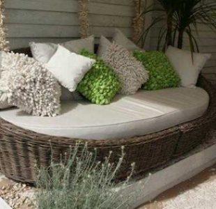 مدل های مبلمان حصیری حیاط خلوت، باغ و پاسیو ویلایی