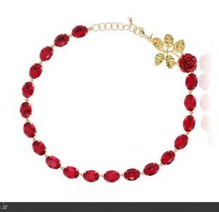 زیباترین مدل جواهرات طرح گل سرخ